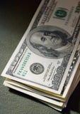 Geld in der Dämmerung Stockbilder