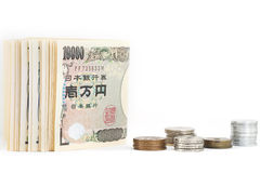 Geld der japanischen Yen Stockfotografie