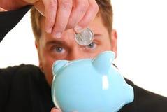 Geld in der Querneigung lizenzfreie stockfotos