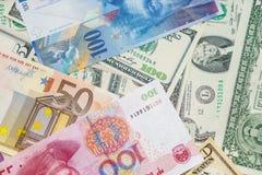 Geld der Welt stockfoto