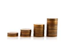Geld-Diagramm Lizenzfreie Stockbilder