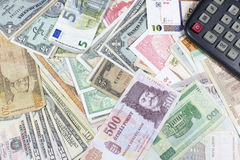 Geld, die Maschine von Wirtschaft Stockfoto