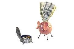 Geld, dollar Stock Fotografie