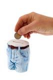 Geld-doos Royalty-vrije Stock Afbeelding