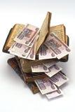 Geld en boeken Royalty-vrije Stock Afbeelding