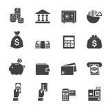 Geld en financiënpictogram Royalty-vrije Stock Foto's