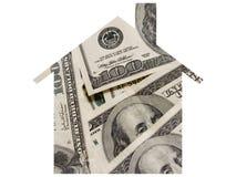 Geld en hypotheek Royalty-vrije Stock Afbeeldingen