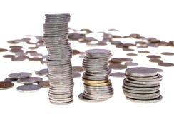 Geld en kaart Royalty-vrije Stock Foto's