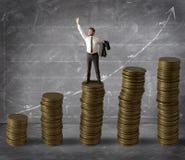 Geld en succes Royalty-vrije Stock Afbeeldingen