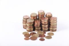 Geld - Euro muntstukken Royalty-vrije Stock Foto