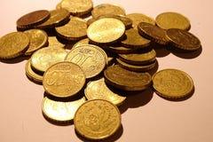 Geld, Euros, wechseln im Detail ein Stockbilder