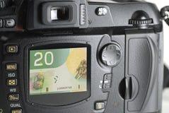 Geld für Ablage Stockfoto