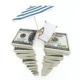 Geld für Ferien Lizenzfreie Stockfotografie