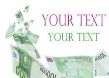 Geld für Sie. Lizenzfreie Stockbilder