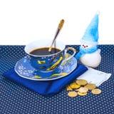 Geld für Tee Stockbild
