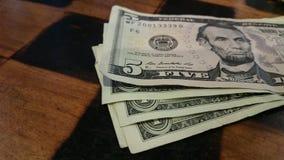 Geld für Tipp Stockfotografie