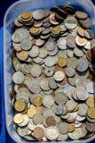 Geld für Verkauf Bargeld ist der König Stockbild