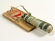 Geld-Falle Lizenzfreie Stockbilder
