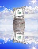 Geld-Fass Lizenzfreies Stockbild