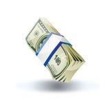 Geld-Feiertags-Ikone Stockfoto