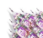 Geld-Flächen Stockfotografie