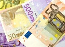 Geld, geld. Royalty-vrije Stock Foto's
