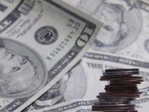 Geld-Geld Stockfoto