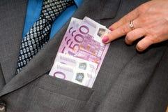 Geld, geld, geld? Stock Fotografie