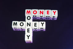 Geld, geld, geld Stock Foto