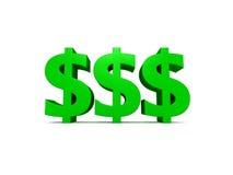 Geld-Geld-Geld Stockfoto