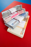 Geld, geld, geld royalty-vrije stock foto