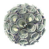Geld Geldball finanzierung Geschäft Dollar Lizenzfreie Stockfotos