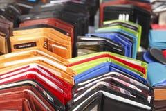 Geld-Geldbeutel Lizenzfreies Stockfoto
