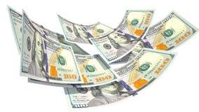 Geld Geldenbal financiën Zaken Dollars Stock Foto's