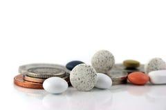 Geld of geneeskunde 2?? royalty-vrije stock foto