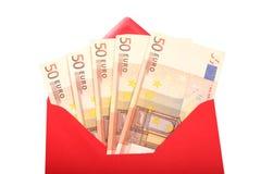 Geld - Geschenk Lizenzfreies Stockfoto
