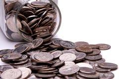 Geld-Glas Lizenzfreie Stockbilder