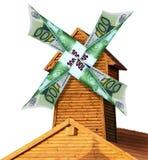 Geld - goederen Stock Afbeelding