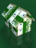 Geld - Haus Lizenzfreies Stockbild