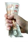 Geld - het Grijpen Nota's Royalty-vrije Stock Afbeeldingen