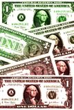 Geld-Hintergrund Stockfoto