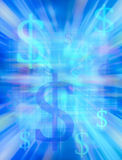Geld-Hintergrund Lizenzfreies Stockbild