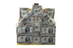 Geld in huisvesting Royalty-vrije Stock Fotografie