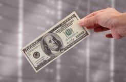 Geld ist der größte Anreiz Stockbild