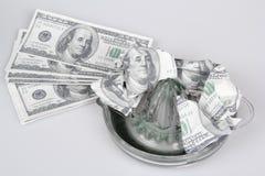 Geld Juicer Lizenzfreies Stockbild