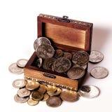 Geld-Kasten Lizenzfreie Stockfotografie