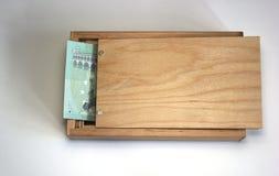 Geld-Kasten Stockfoto