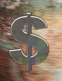 Geld lässt die Welt gehen 'rund Lizenzfreie Stockfotos