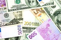Geld, mehr Geld Stockfotografie