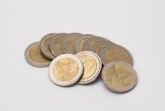 Geld monet Royalty-vrije Stock Afbeeldingen